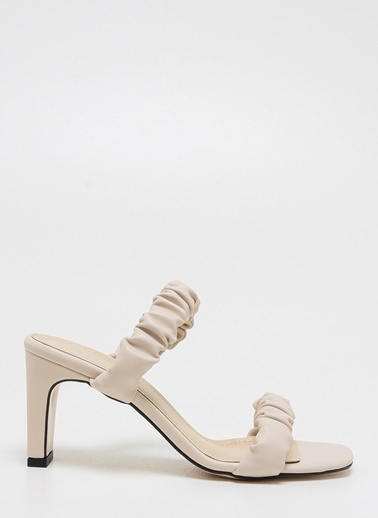 F By Fabrika F By Fabrika Sarah Çok Renkli Kadın Topuklu Ayakkabı Ten
